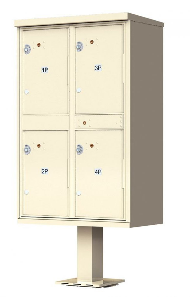 4 Door Parcel Locker CBU 1590-T2SD
