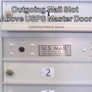 Outgoing Mail Slot