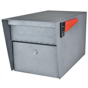 3 Mail Manager Locking Mailboxes with Post Granite