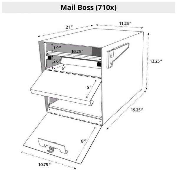 Mail Boss Specifications