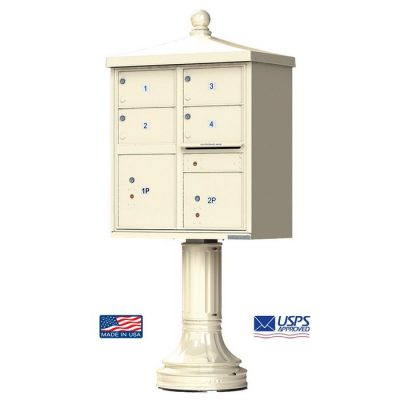 4-Door Florence Traditional Vital™ 1570 Series with 2 Parcel Lockers