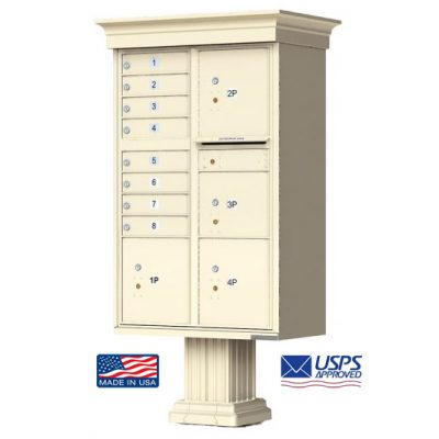 8-Door Florence Classic Vital™ 1570 Series with 4 Parcel Lockers