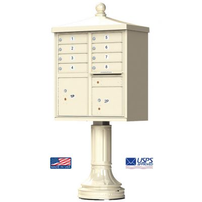8-Door Florence Traditional Vital™ 1570 Series with 2 Parcel Lockers
