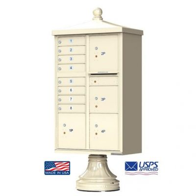 8-Door Florence Traditional Vital™ 1570 Series with 4 Parcel Lockers