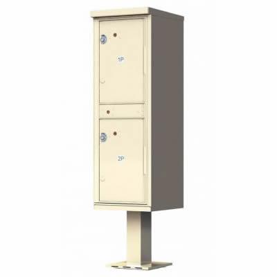 2 – Door Florence Outdoor Parcel Locker 1590T1