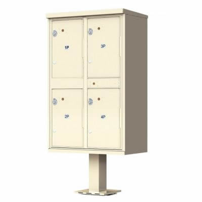4 – Door Florence Outdoor Parcel Locker 1590-T2