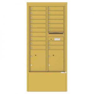 18 Door Depot Cabinet Gold Speck 4C15D-18-D -GS