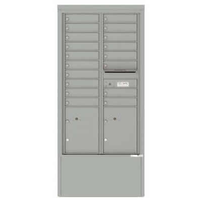 18 Door Depot Cabinet Silver Speck 4C15D-18-D -SS