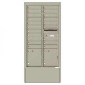 Depot Cabinet Postal Grey 4C16D-20-DPG