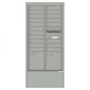 Depot Cabinet Silver Spect 4C16D-20-DSS