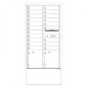 Depot Cabinet White 4C16D-20-DWH