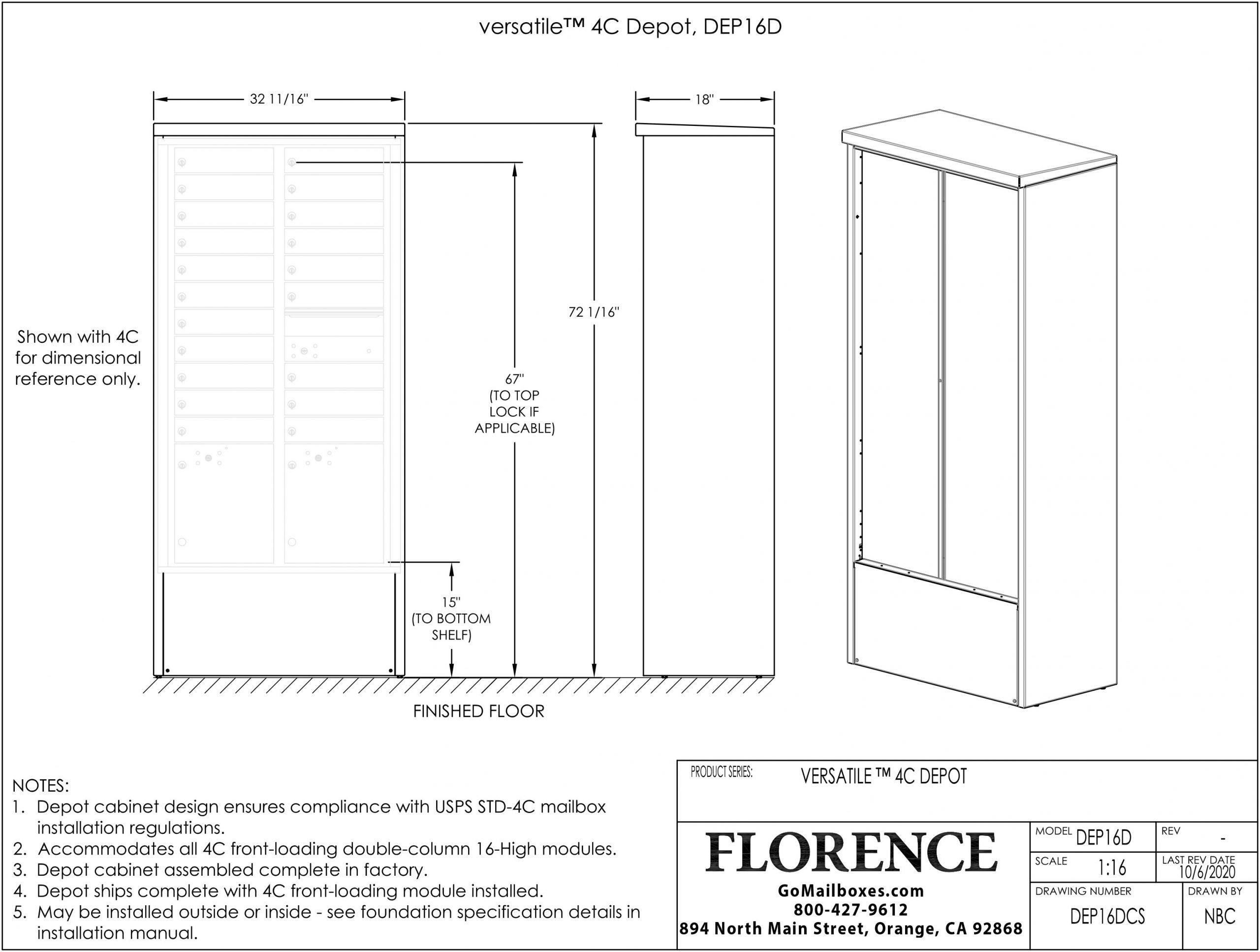 Door-Chart-DEP16DCS
