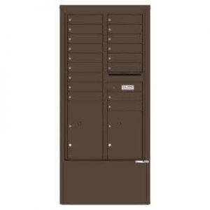 17 Door Depot Cabinet Antquite Bronze 4C15D-17-D