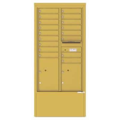 17 Door Depot Cabinet Gold Speck 4C15D-17-GS
