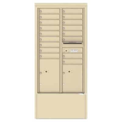 17 Door Depot Cabinet Sandstone 4C15D-17-SD