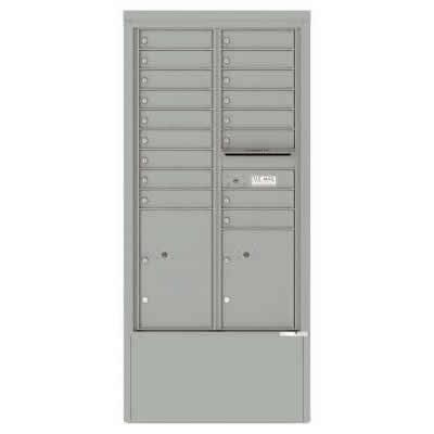 17 Door Depot Silver Speck 4C15D-17-SS