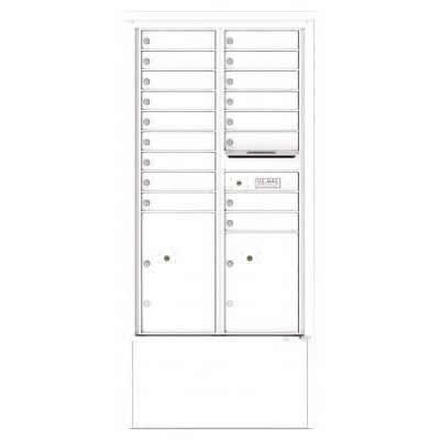 17 Door Depot White 4C15D-17-WH