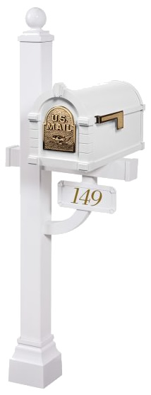 Gaines Keystone Mailbox